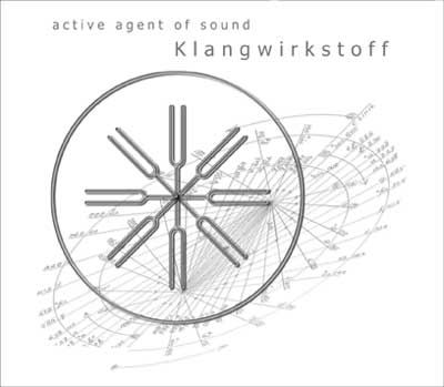 CD-Cover Klangwirkstoff Records Compilation - 'active agent of sound'